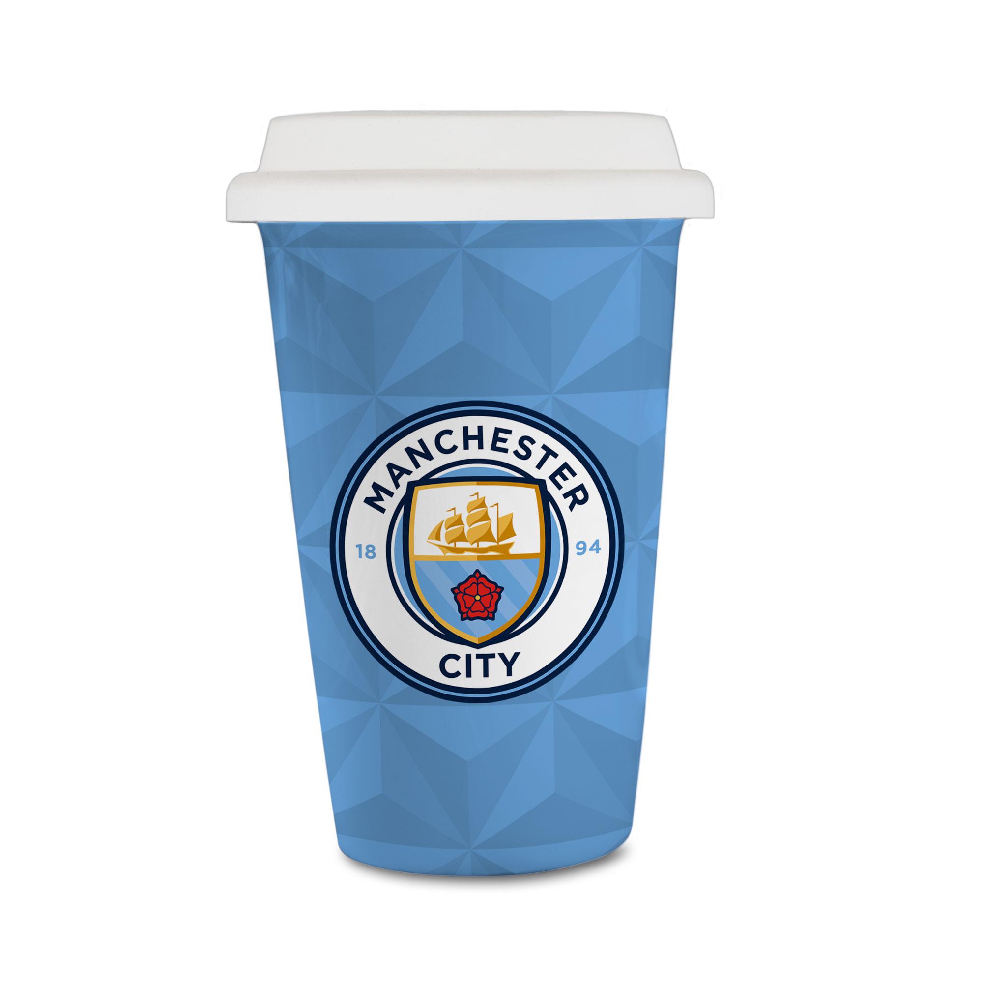 Manchester City FC Crest Reusable Cup