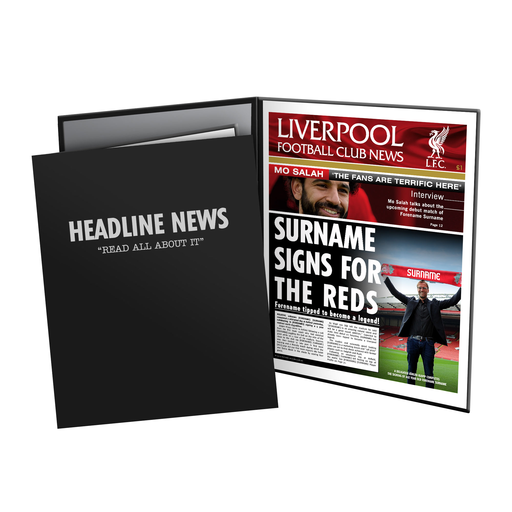 Liverpool FC News Folder