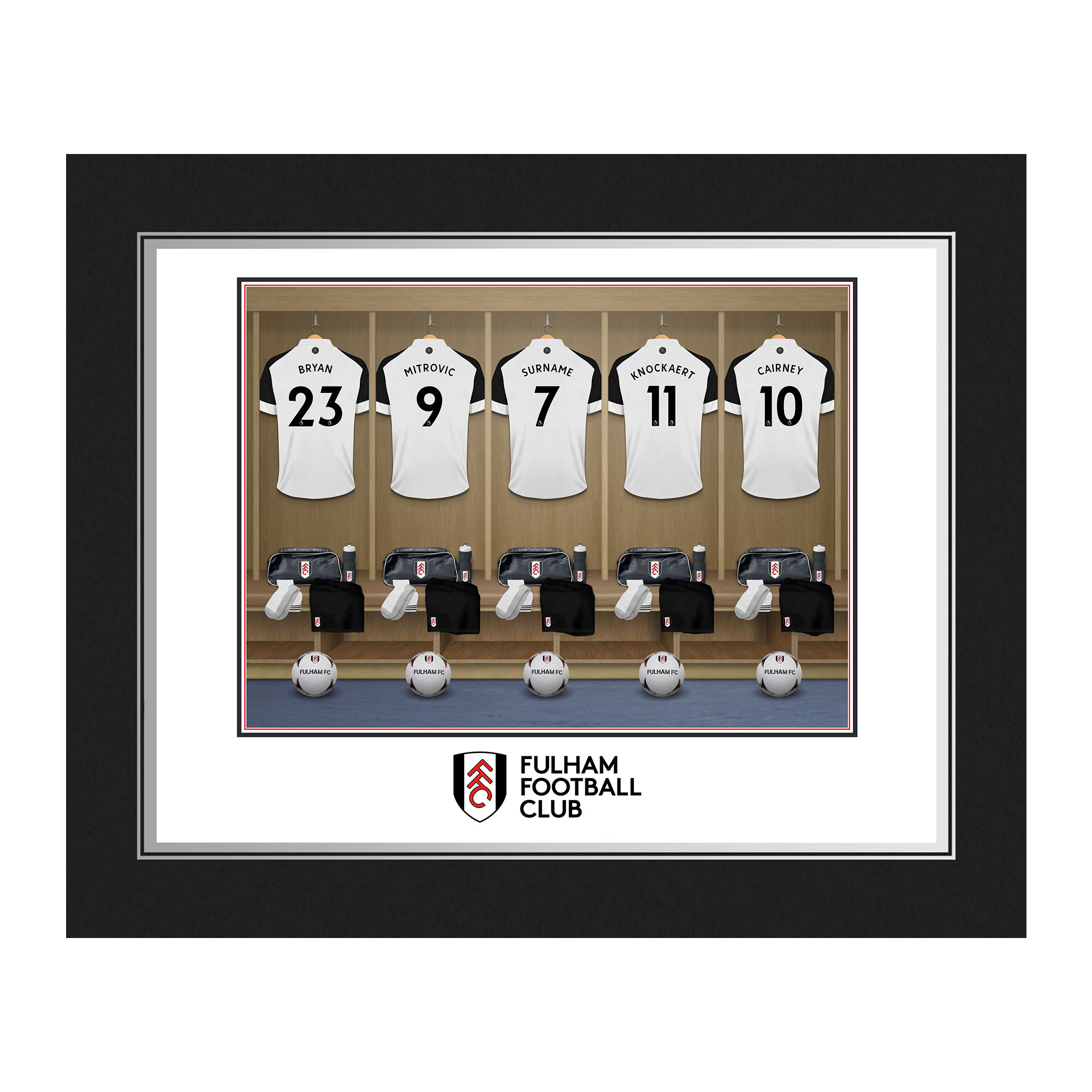 Fulham FC Dressing Room Photo Folder