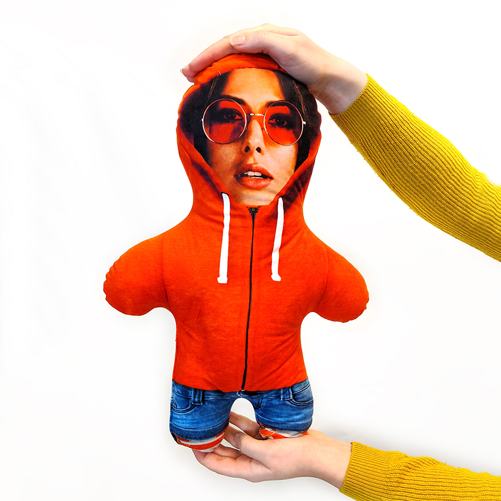 Hoodie - Orange - MINI ME
