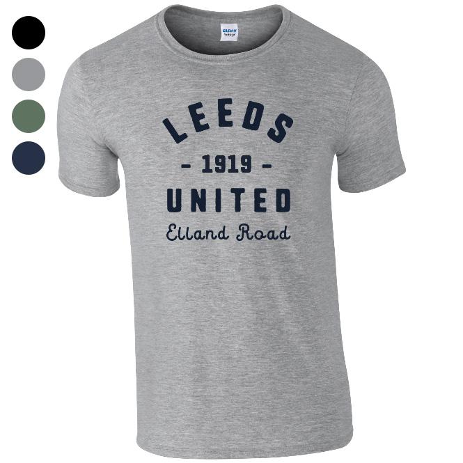 Leeds United FC Stadium Vintage T-Shirt