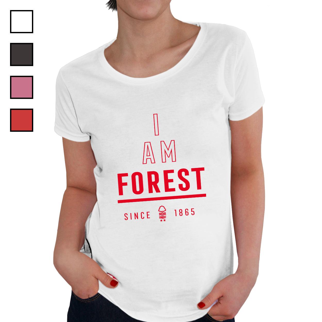 Nottingham Forest FC I Am Ladies T-Shirt