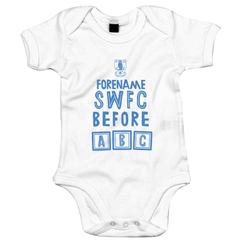 Sheffield Wednesday FC Before ABC Baby Bodysuit