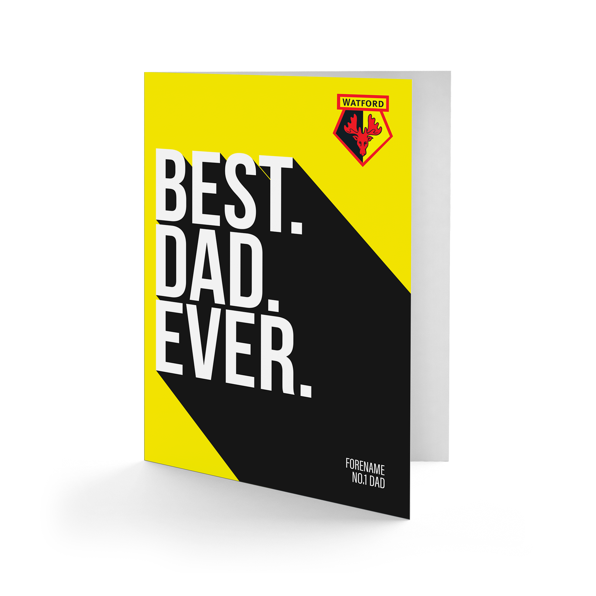 Watford FC Best Dad Ever Card