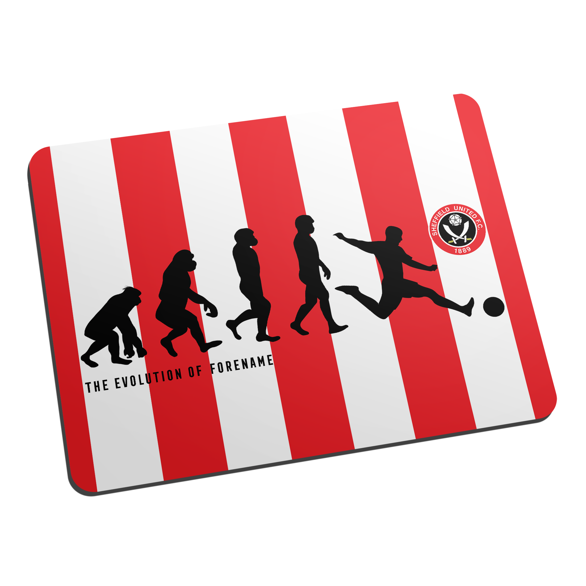 Sheffield United FC Evolution Mouse Mat