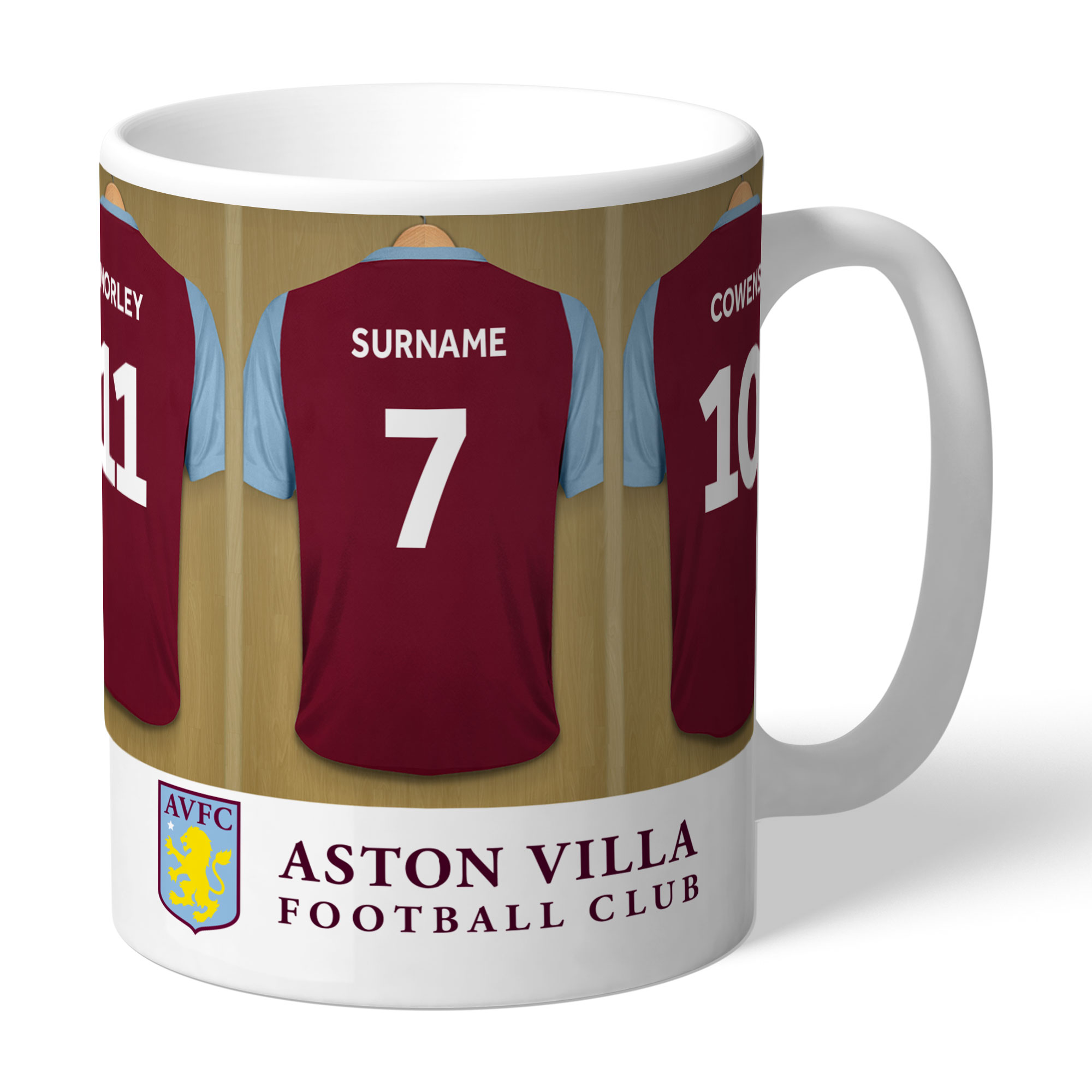 Aston Villa FC Legends Dressing Room Mug