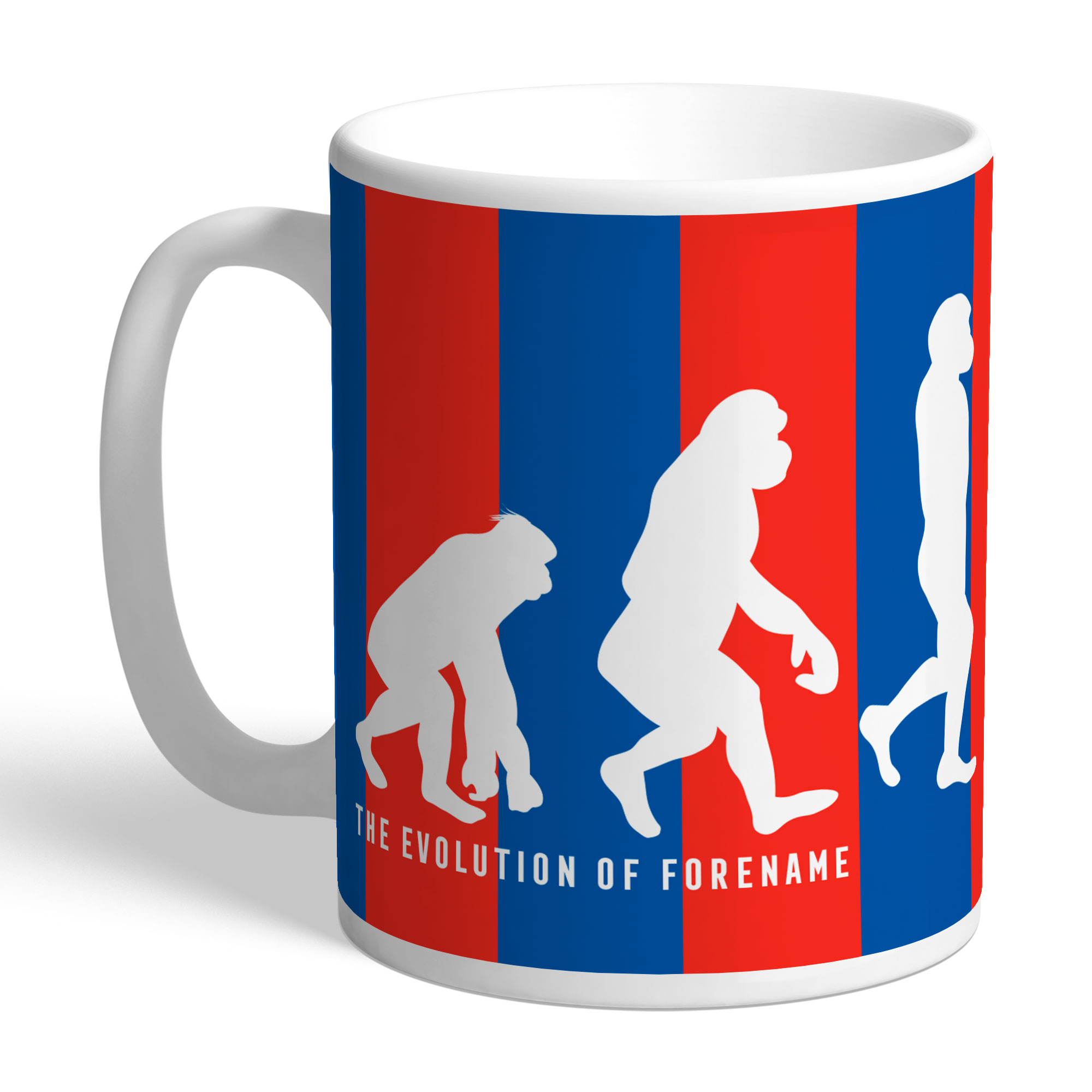 Crystal Palace FC Evolution Mug