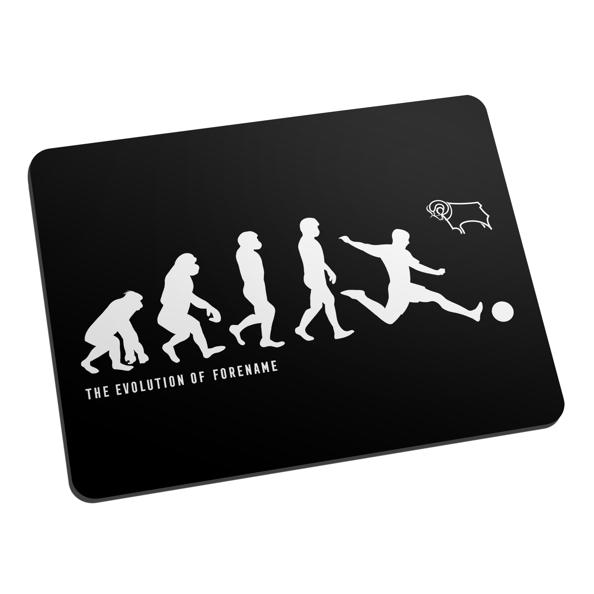 Derby County Evolution Mouse Mat