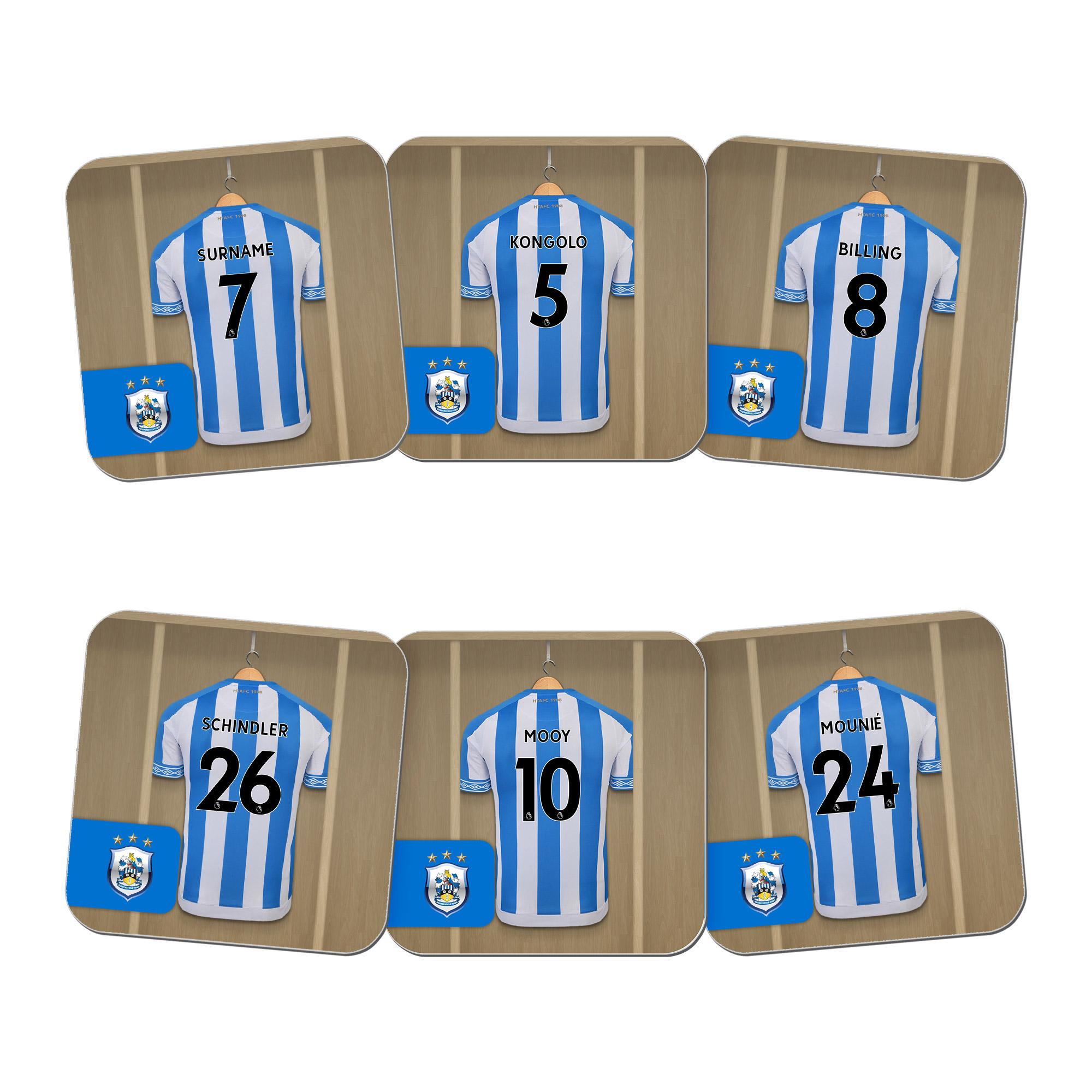 Huddersfield Town AFC Dressing Room Coasters