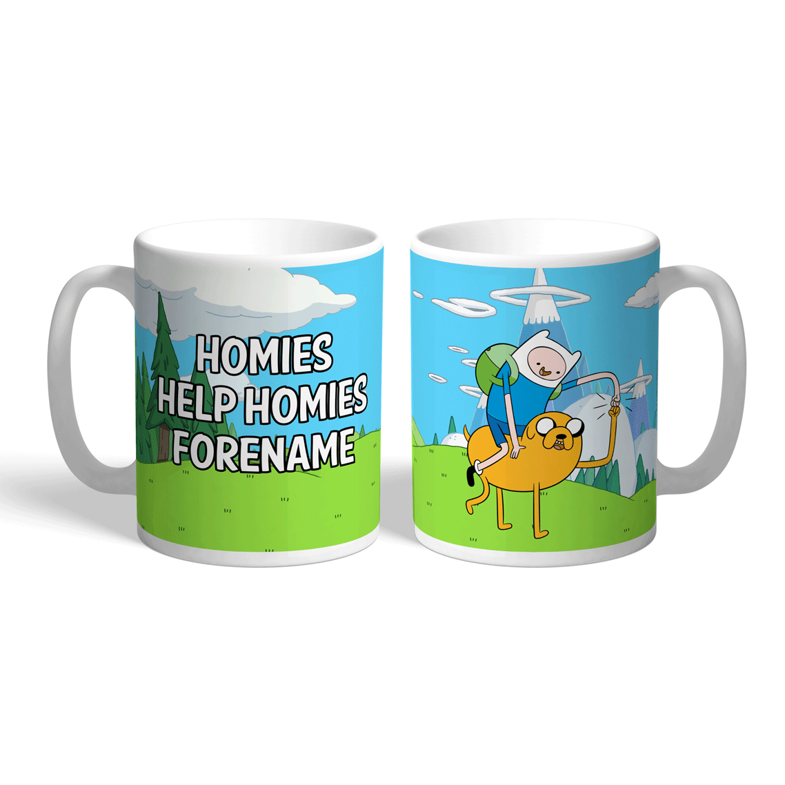 Adventure Time Homies Mug