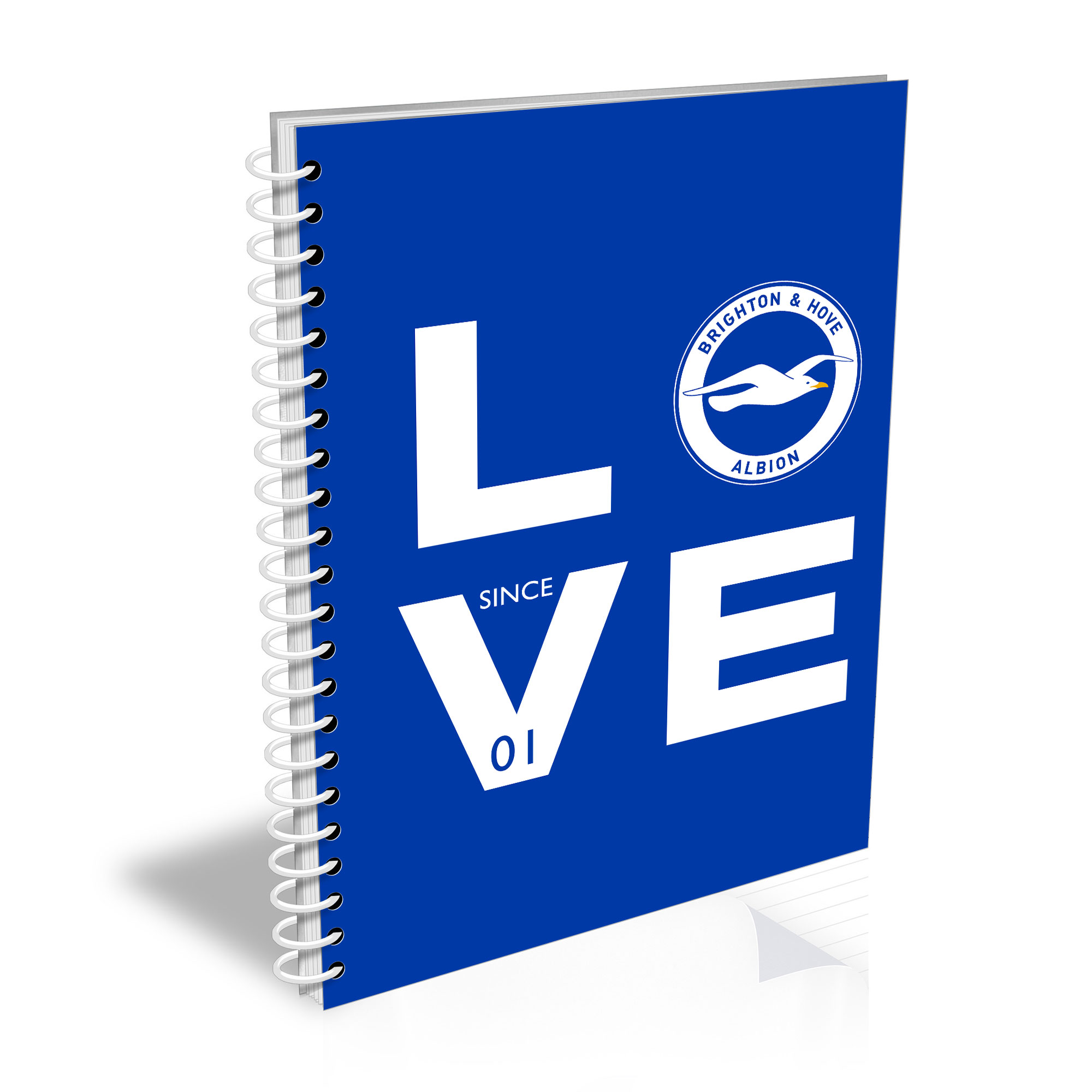 Brighton & Hove Albion FC Love Notebook