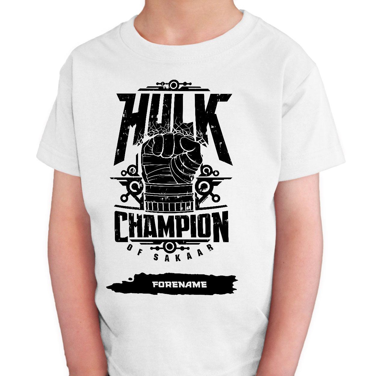 Marvel Thor Ragnarok Hulk Badge  Kids T-Shirt