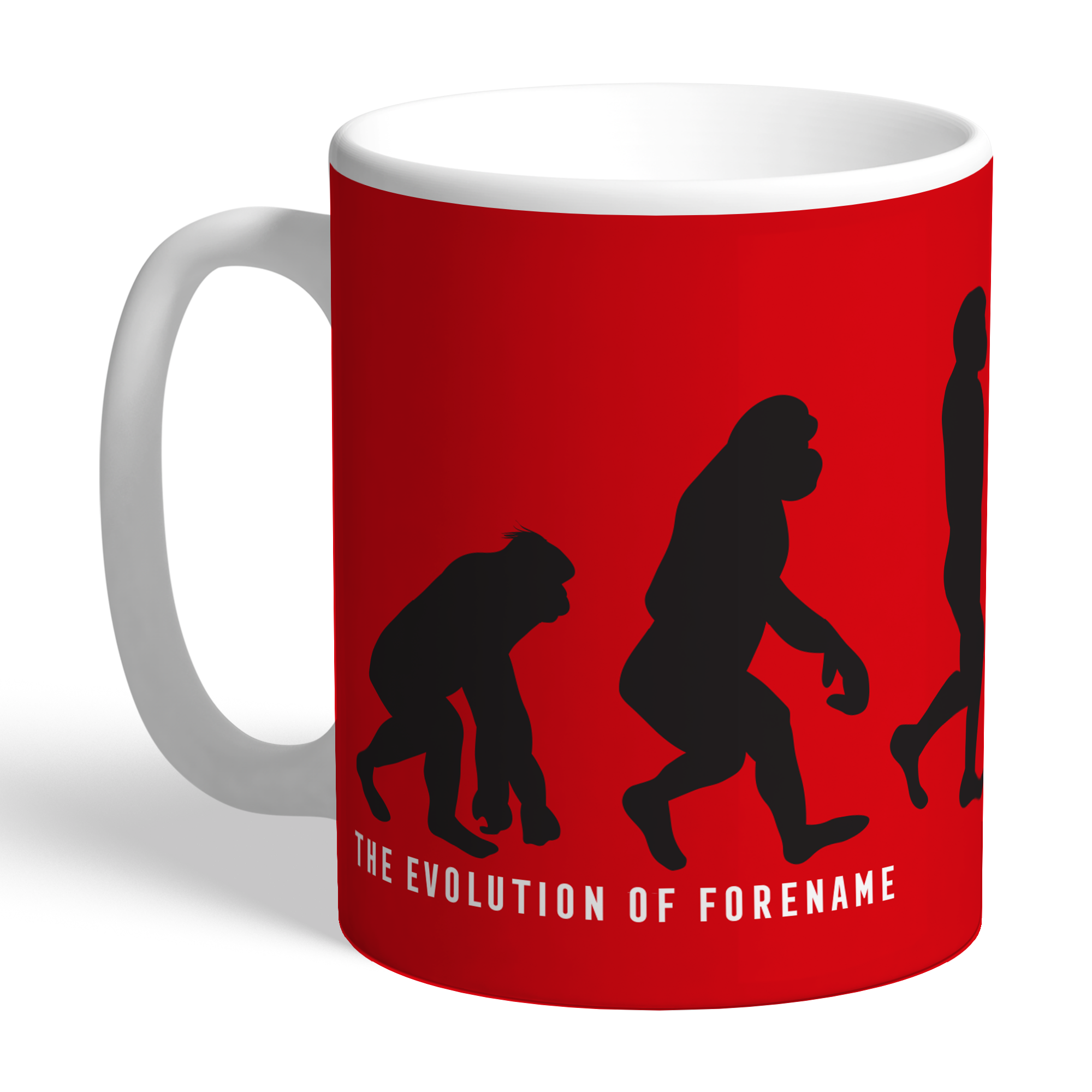 Manchester United FC Evolution Mug
