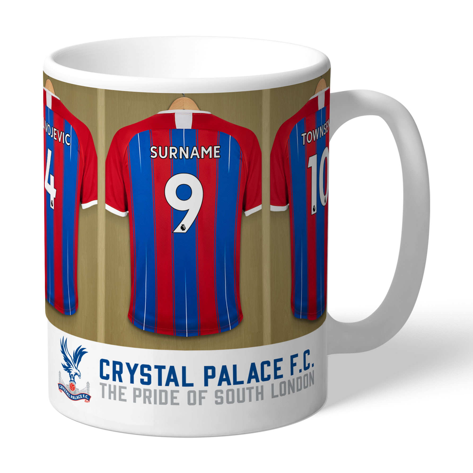 Crystal Palace FC Dressing Room Mug