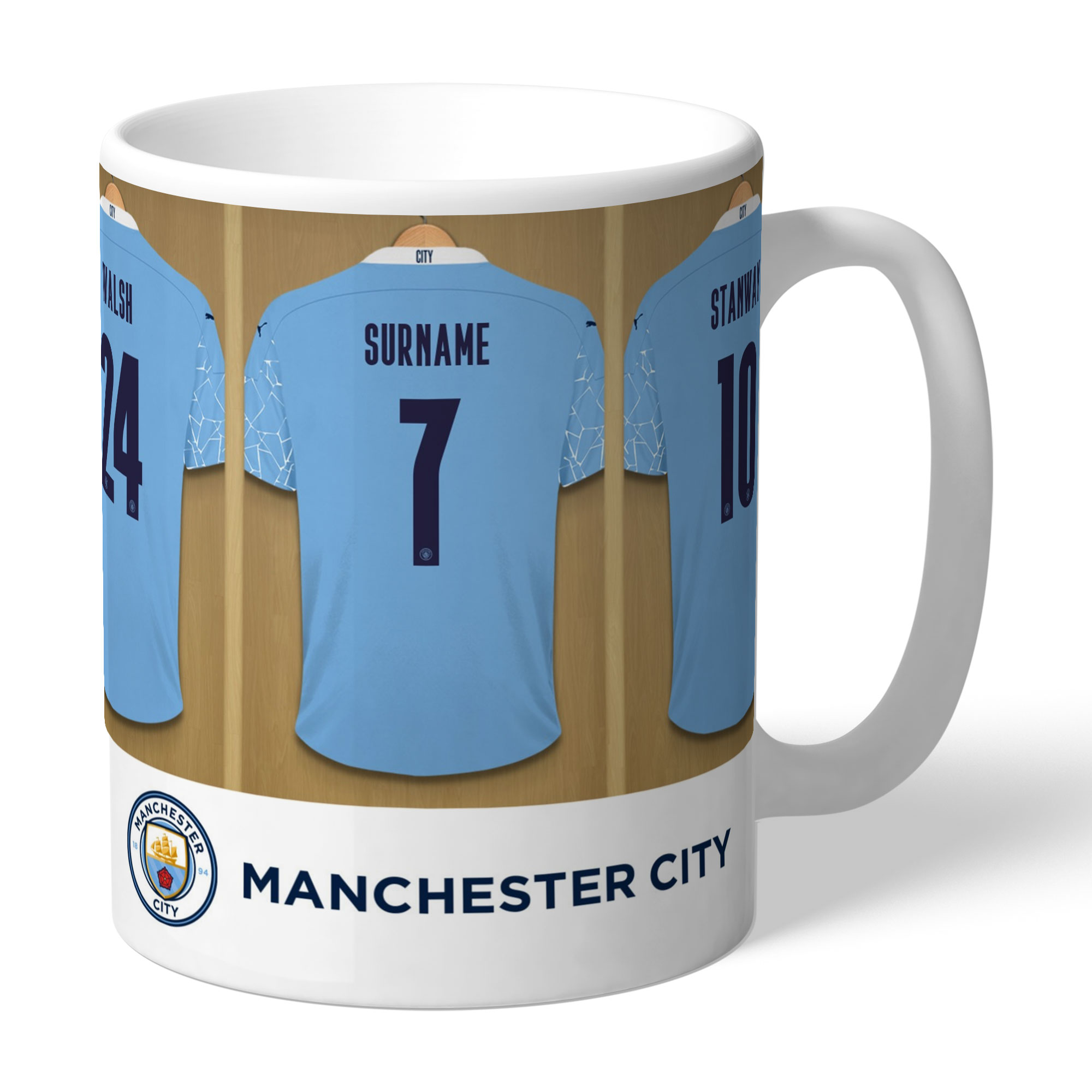 Manchester City FC Women's Team Dressing Room Mug