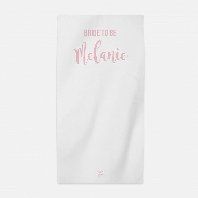 Bride to Be Hen Party Beach Towel