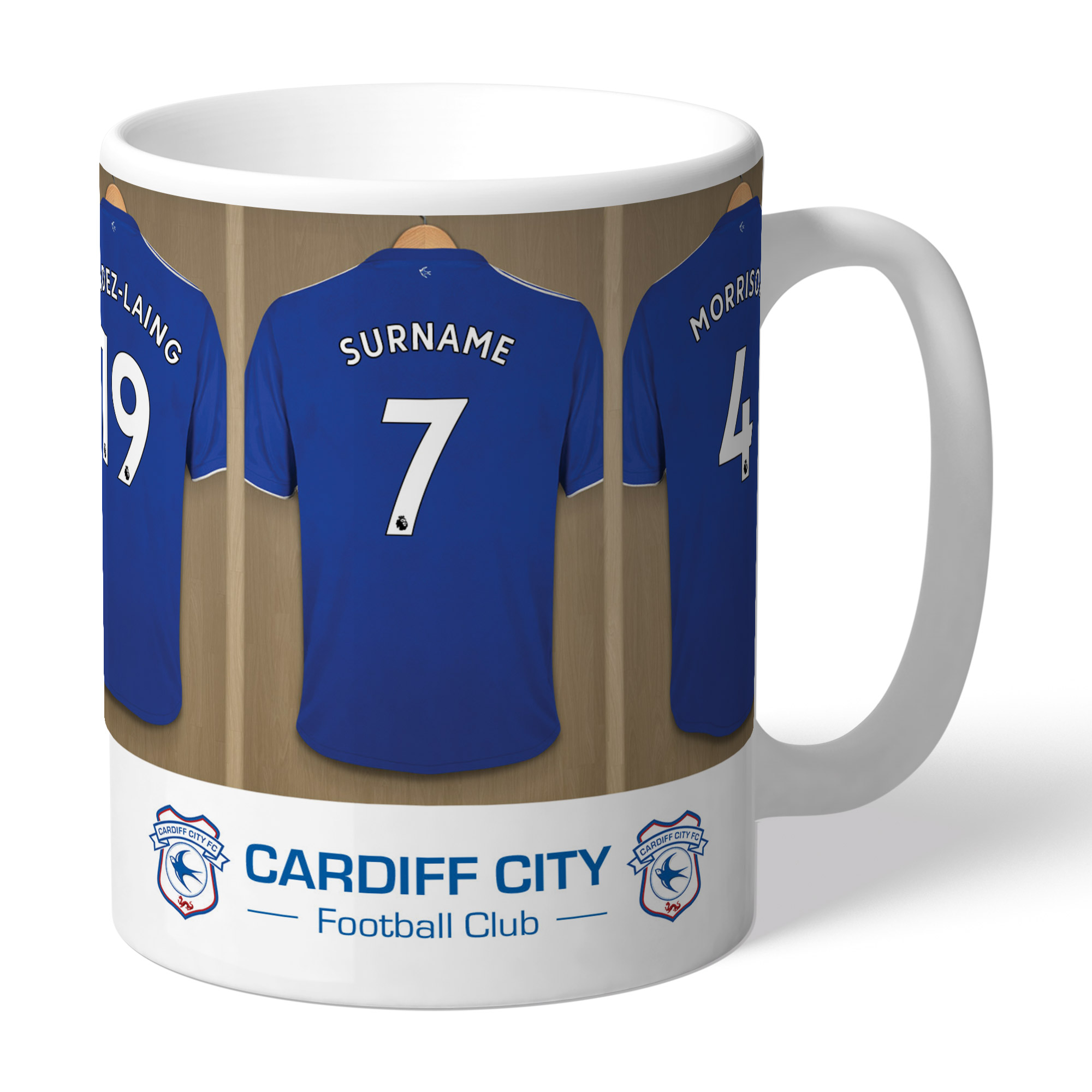Cardiff City Dressing Room Mug