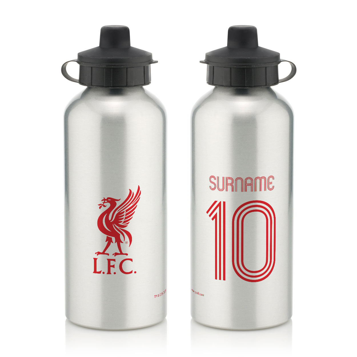 Liverpool FC Retro Shirt Water Bottle