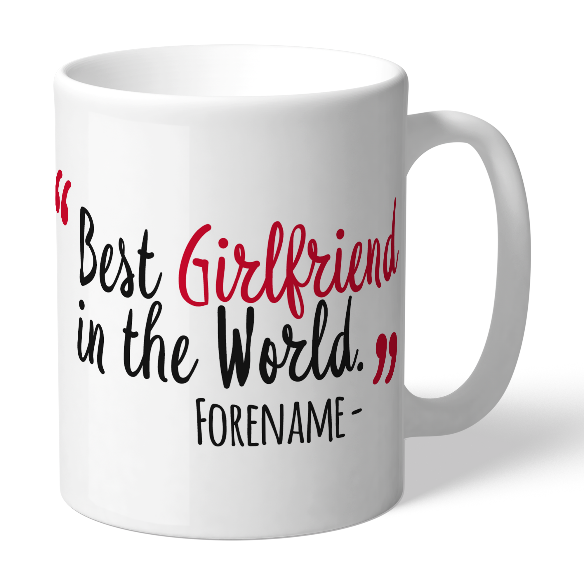 Stoke City FC Best Girlfriend In The World Mug