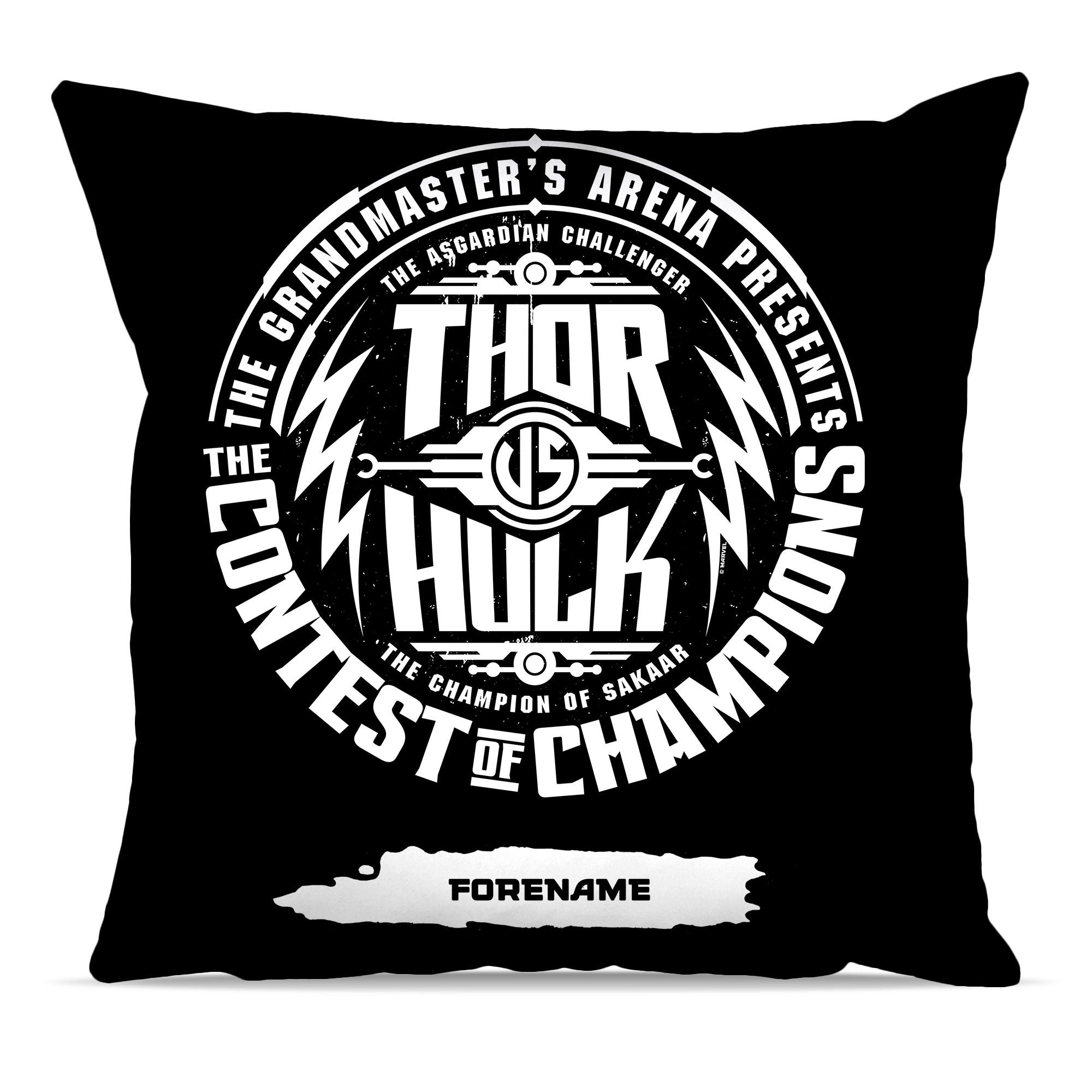 Marvel Thor Ragnarok Contest Badge Cushion