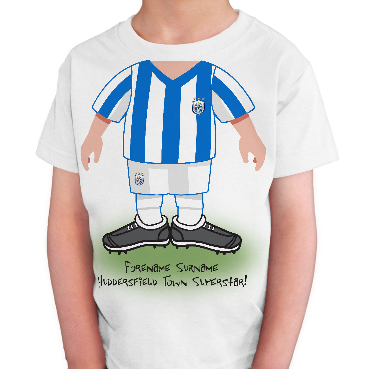 Huddersfield Town Kids Use Your Head T-Shirt