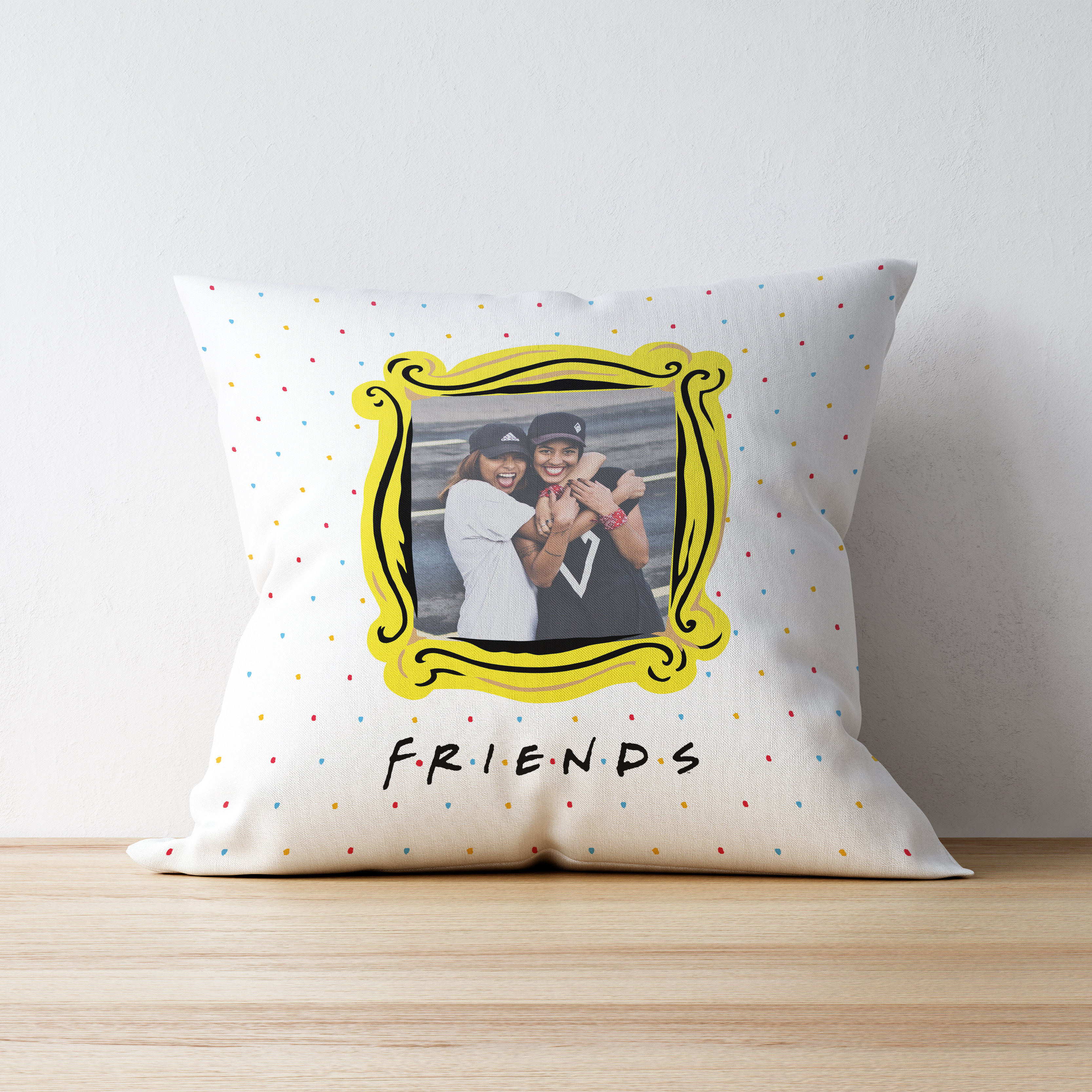 Friends Forever Photo Upload Cushion