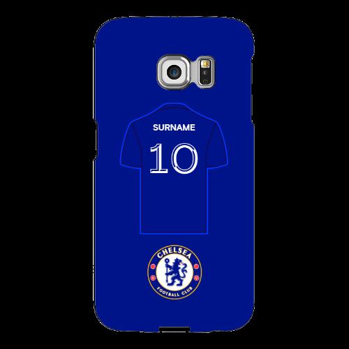 Chelsea FC Shirt Samsung Galaxy S6 Edge Phone Case