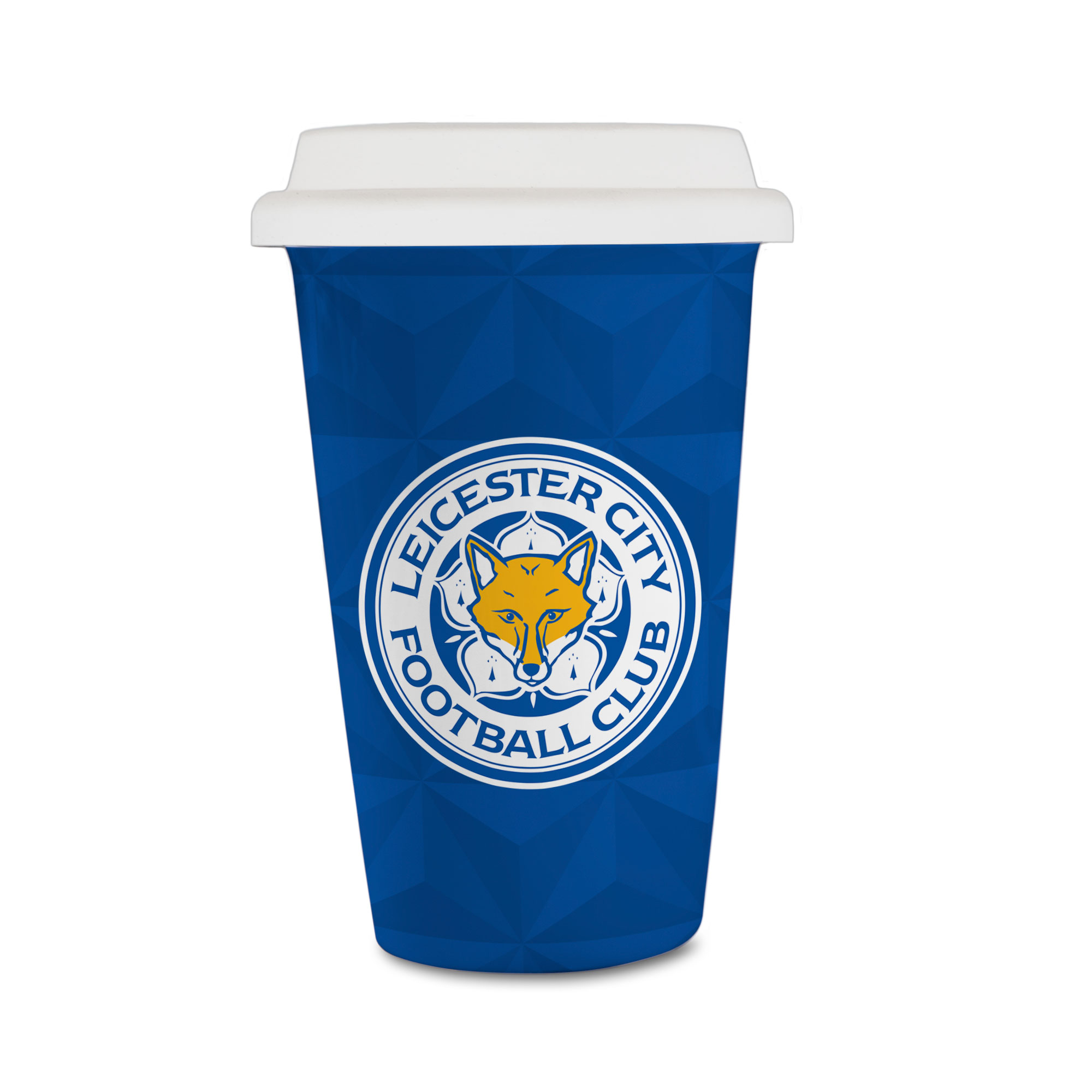 Leicester City FC Crest Reusable Cup