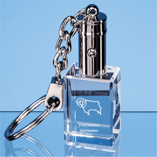 Derby County Crest LED Keyring