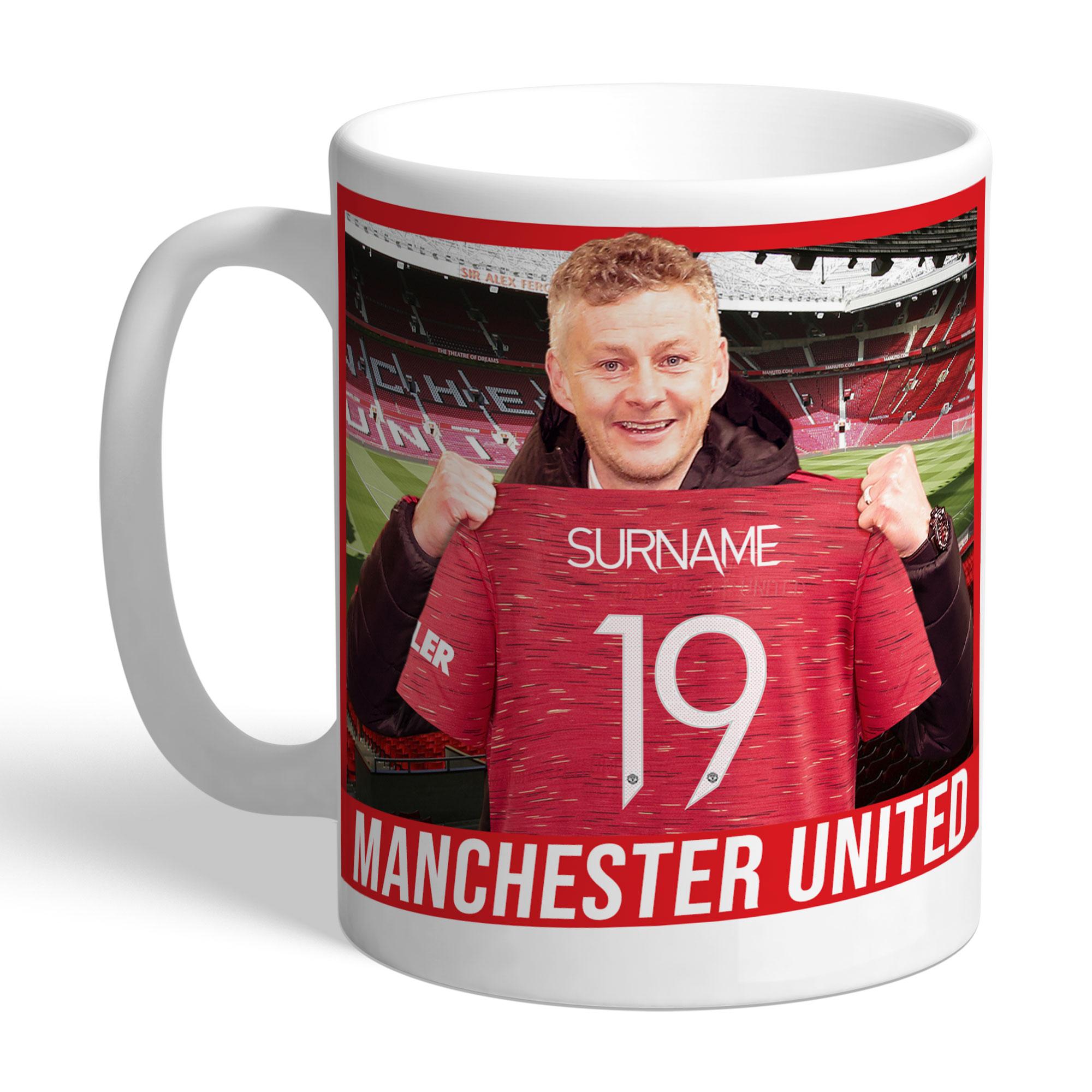 Manchester United FC Manager Mug