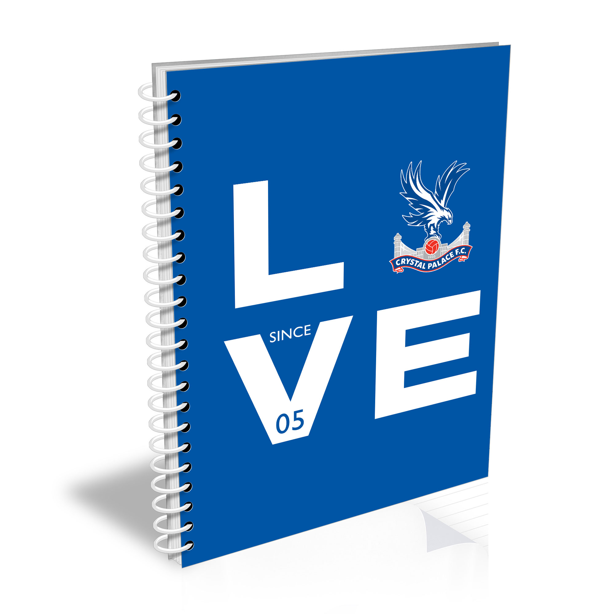 Crystal Palace FC Love Notebook
