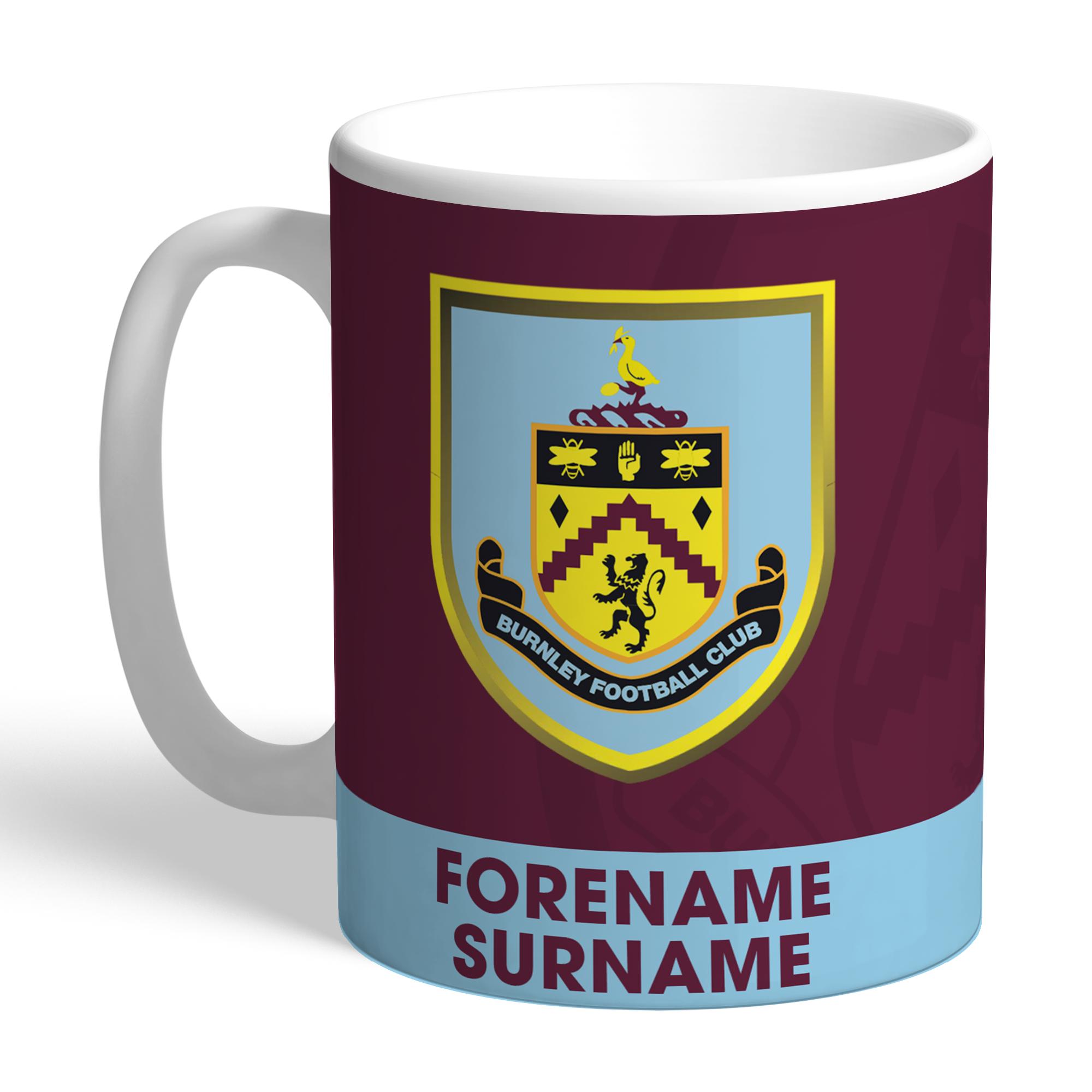 Burnley FC Bold Crest Mug