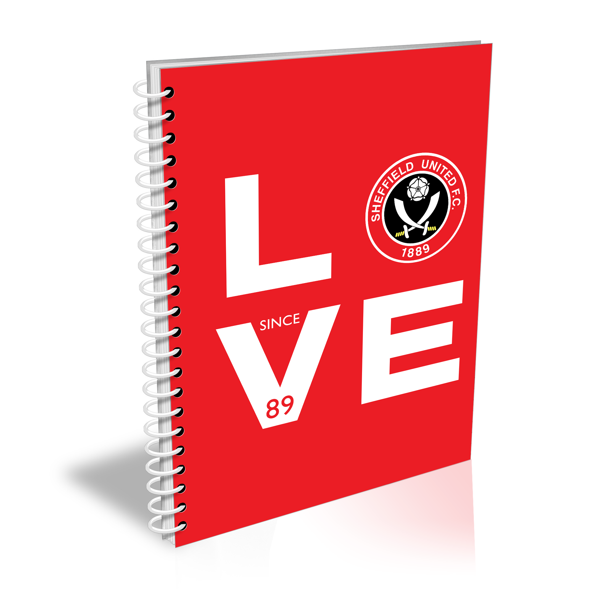 Sheffield United Love Notebook