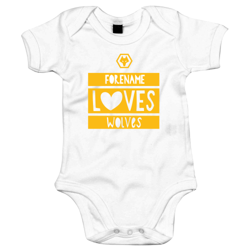 Wolves Loves Baby Bodysuit
