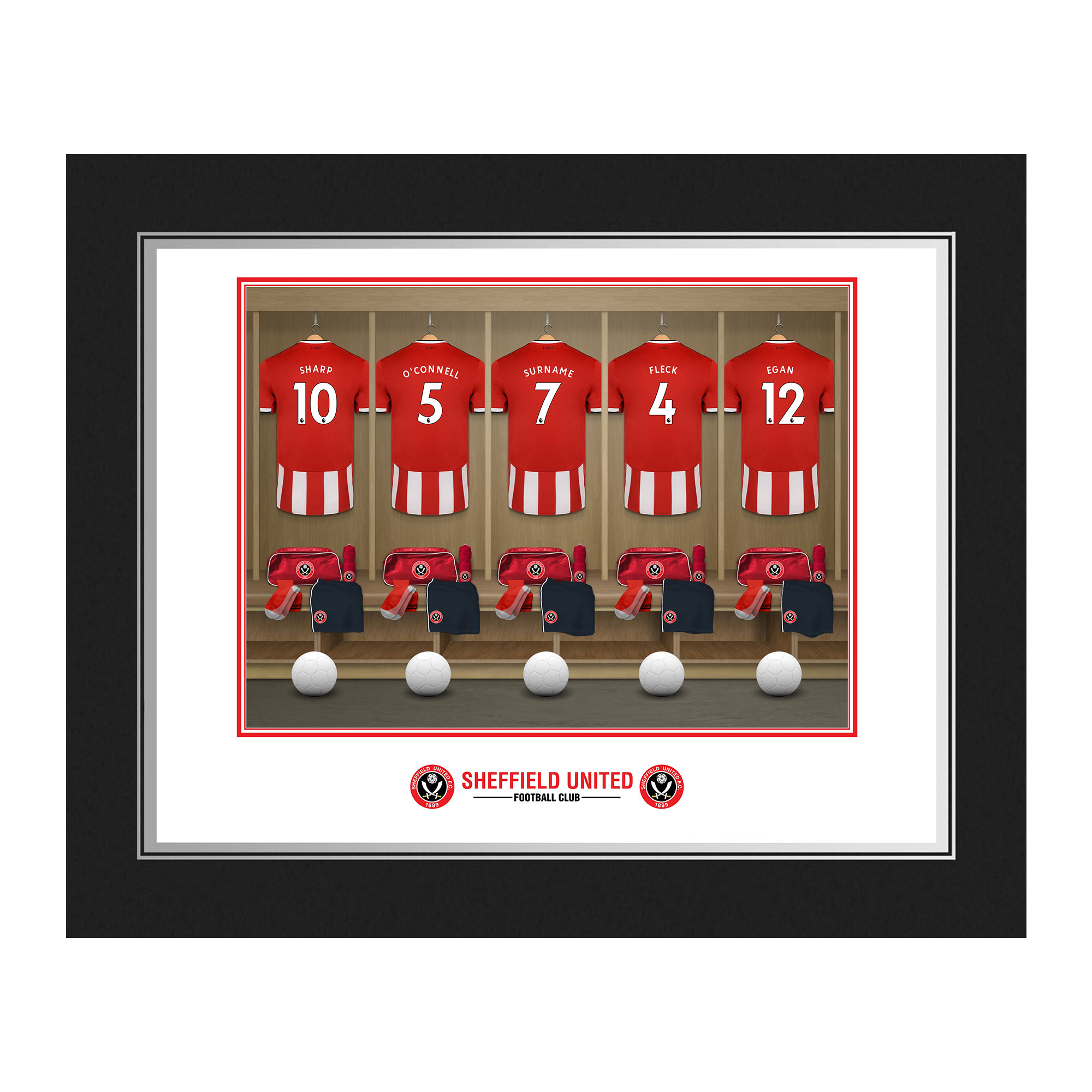 Sheffield United FC Dressing Room Photo Folder