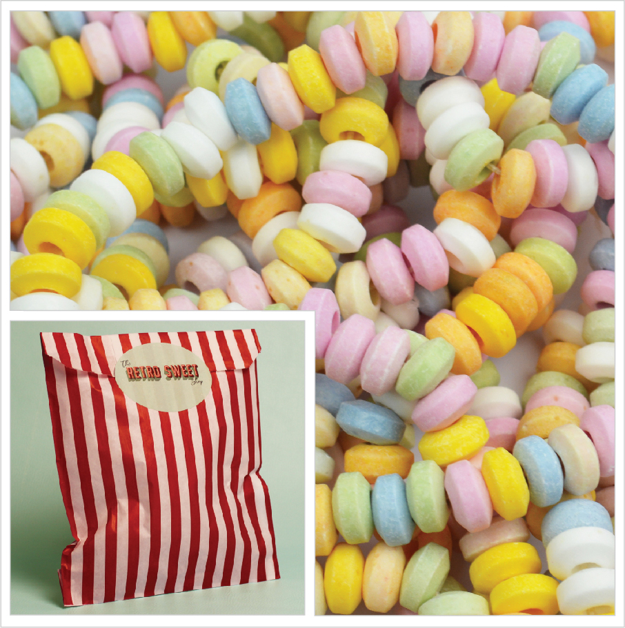 Candy Necklace Sweet Bag