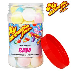 Flying Saucers Sweet Jar