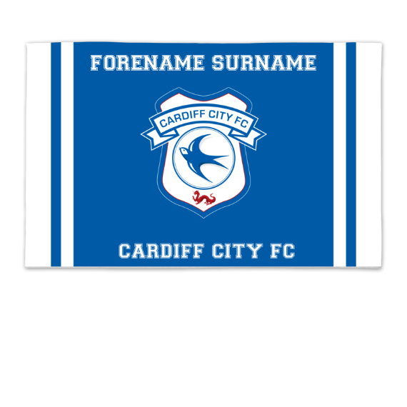 Cardiff City FC Crest 8ft x 5ft Banner