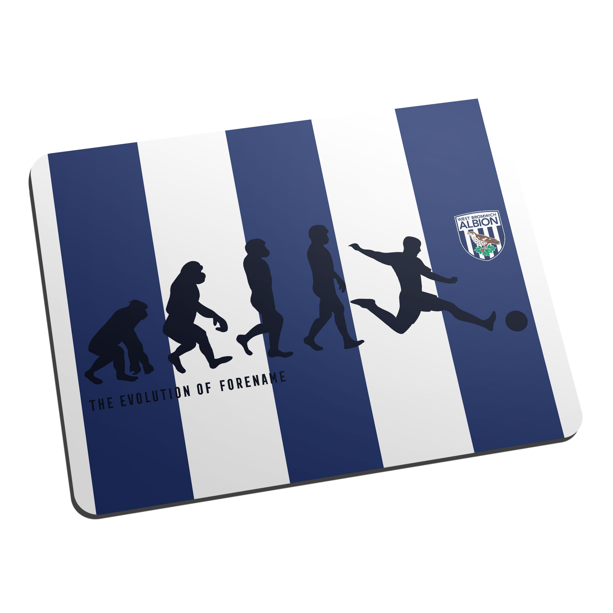West Bromwich Albion FC Evolution Mouse Mat
