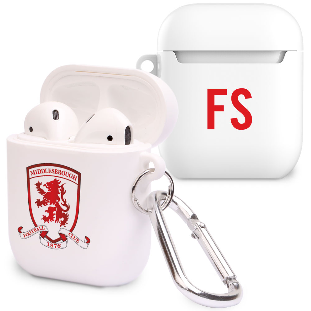 Middlesbrough FC Initials Airpod Case