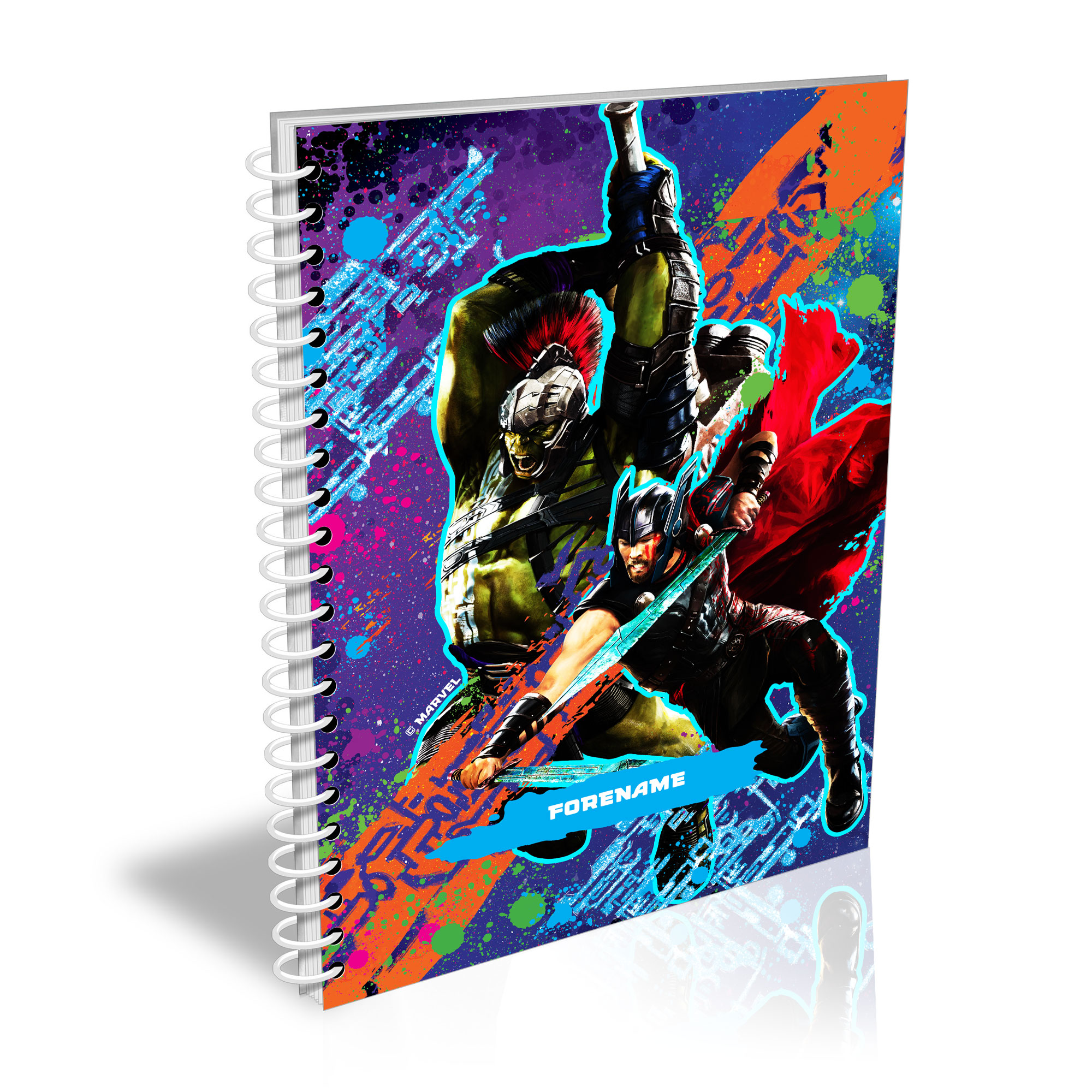 Marvel Thor Ragnarok Colour Splash A5 Notepad