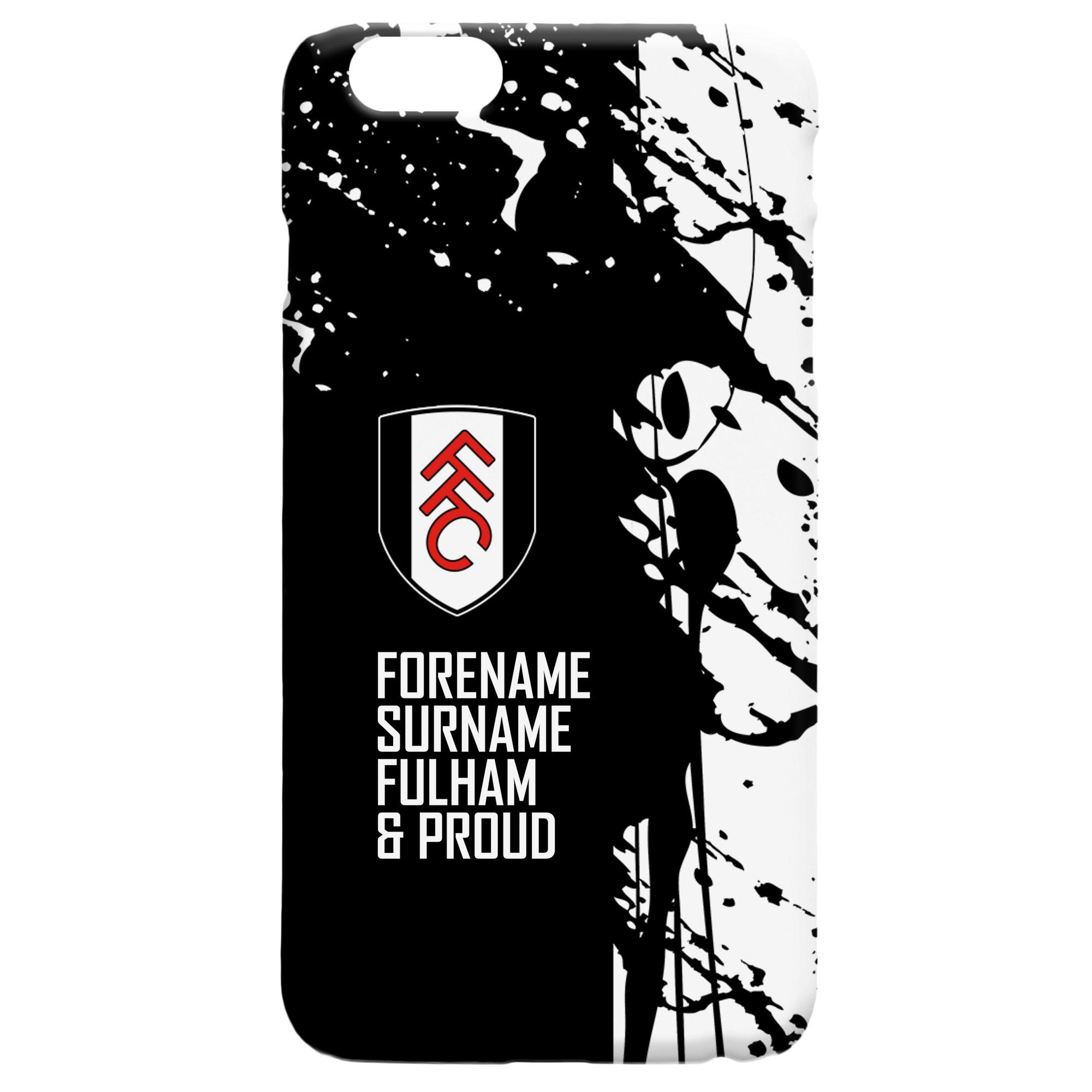 Fulham FC Proud Hard Back Phone Case