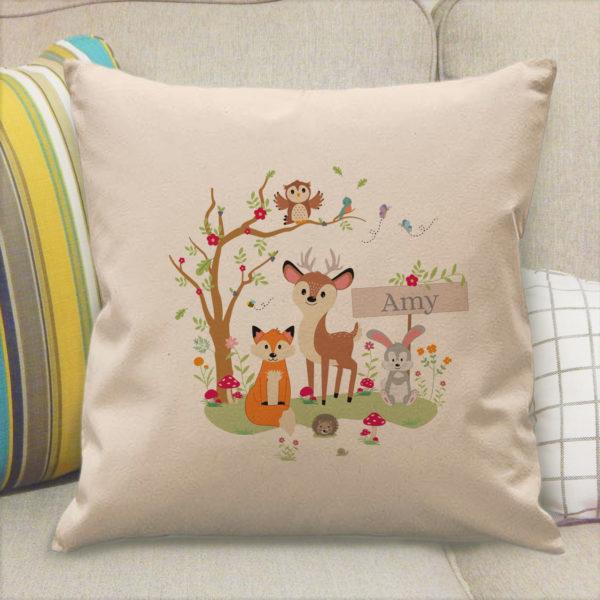 Woodland Filled Cushion