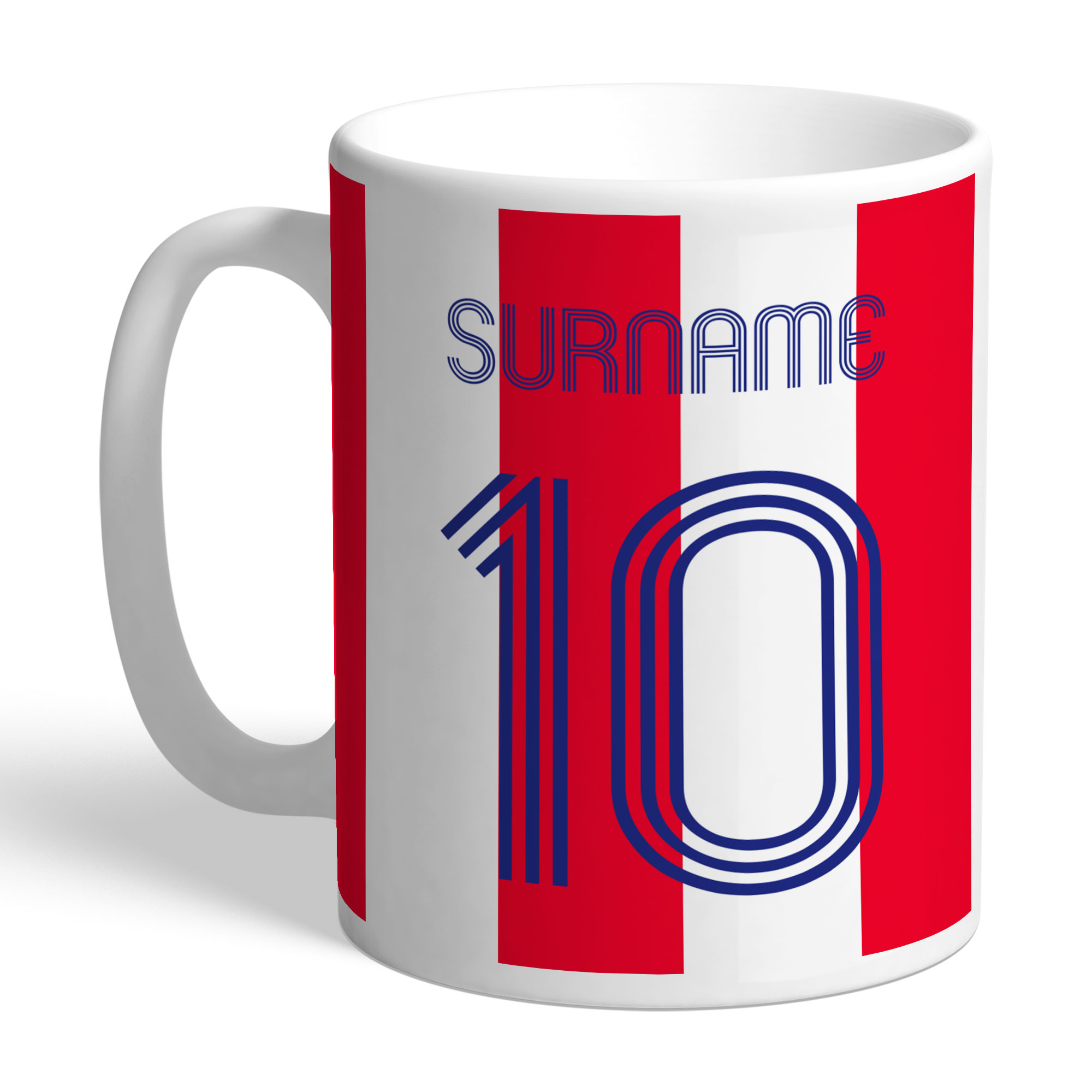 Stoke City FC Retro Shirt Mug