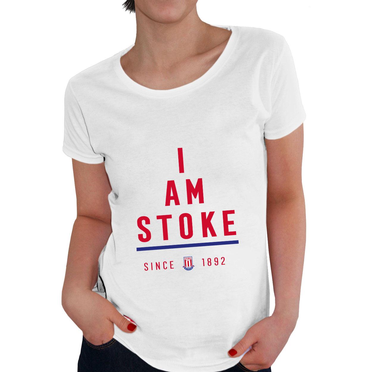 Stoke City FC I Am Ladies T-Shirt