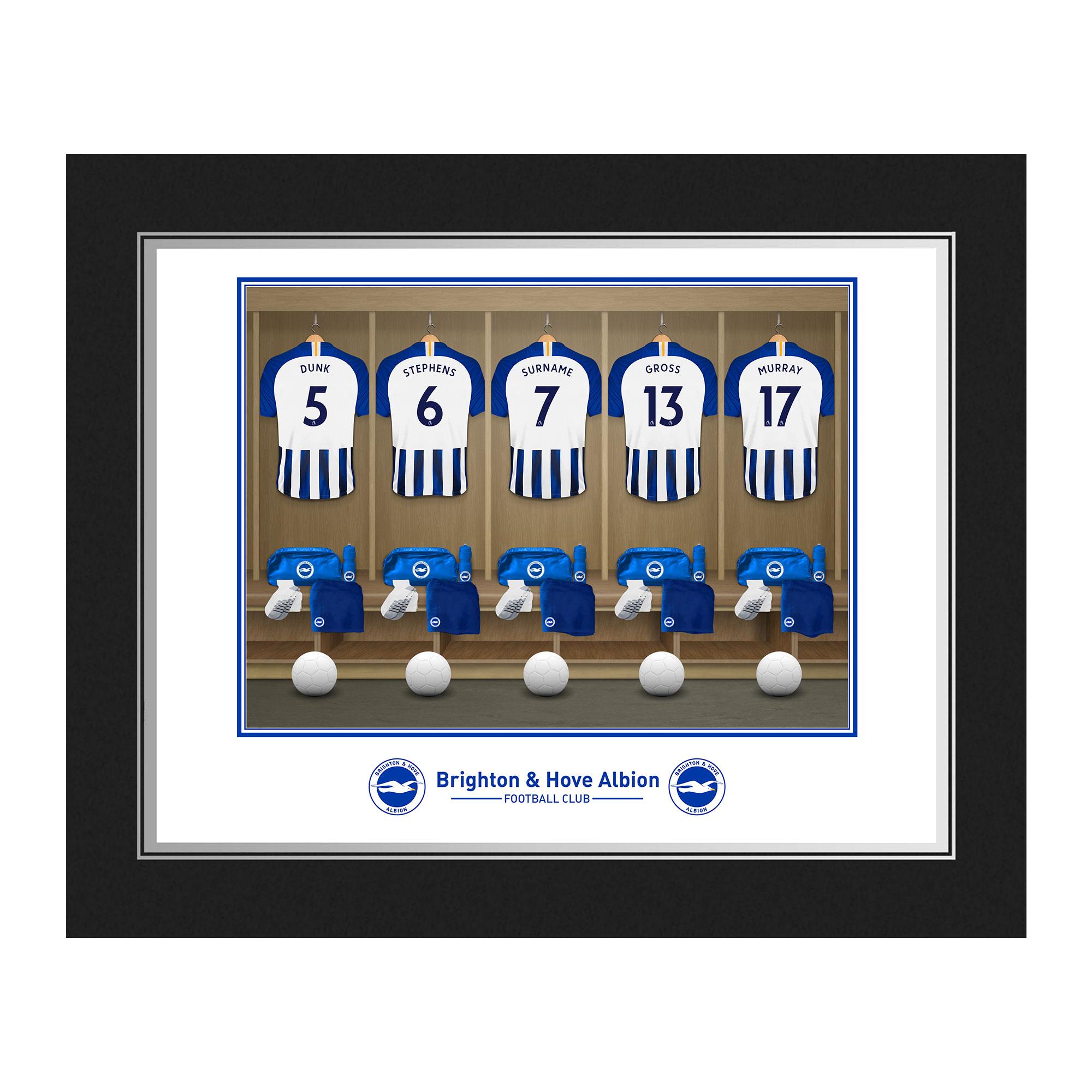 Brighton & Hove Albion FC Dressing Room Photo Folder