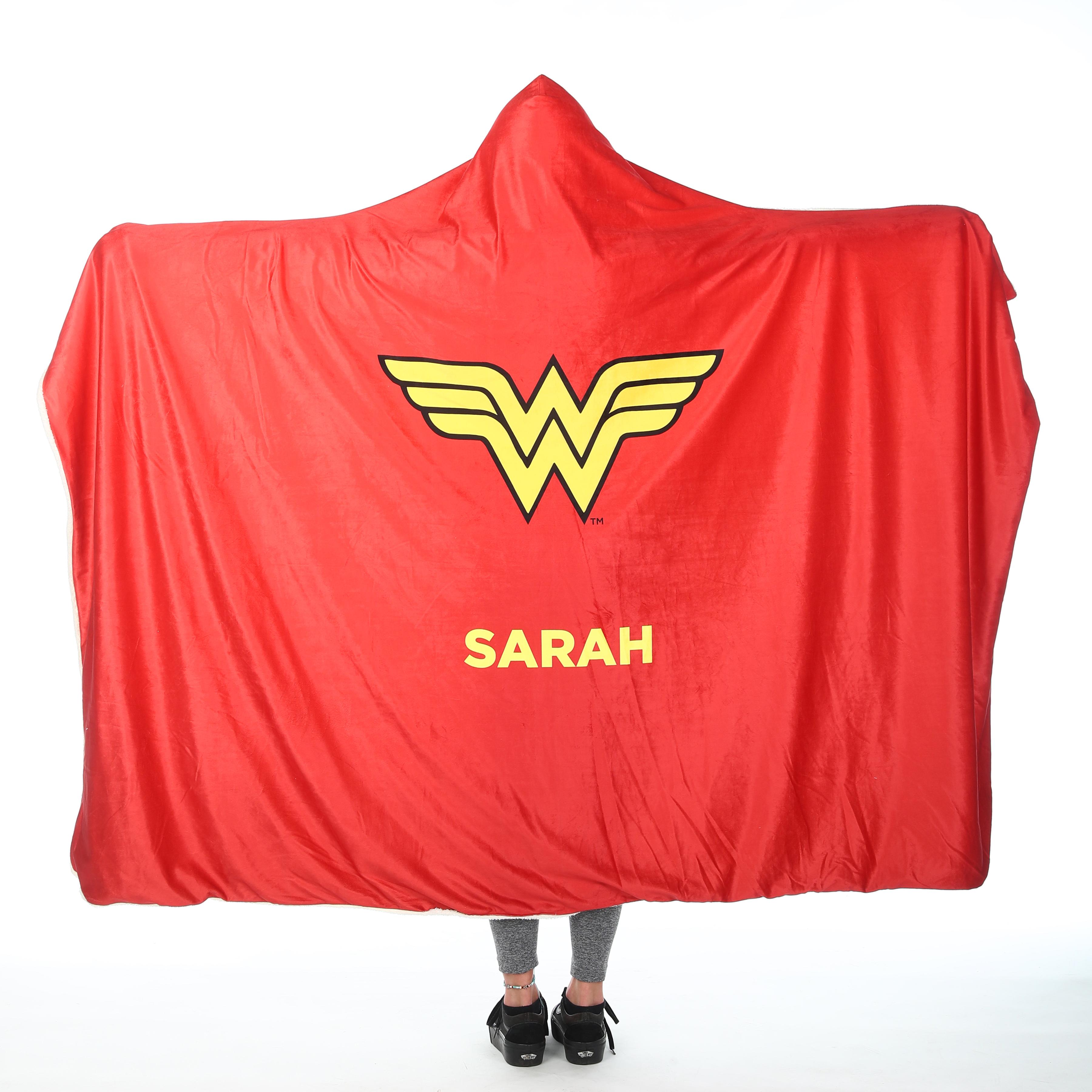 Wonder Woman™ Adult Hooded Blanket - Wonder Woman Cape
