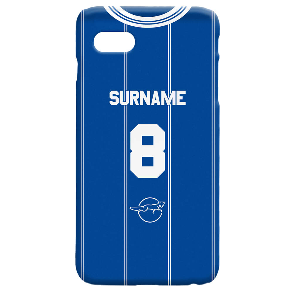 Leicester FC Retro 83 Kit Hard Back Phone Case