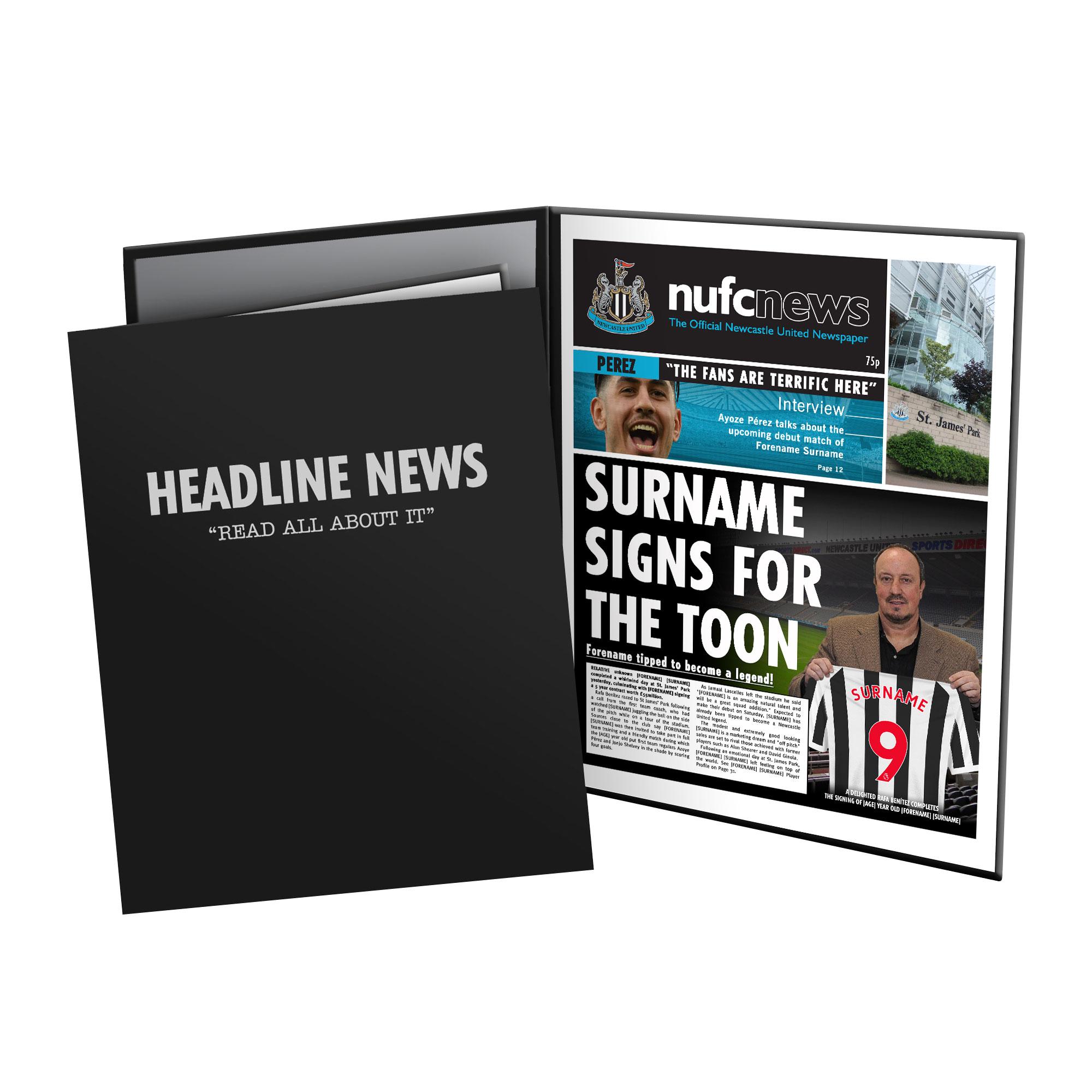Newcastle United FC News Folder