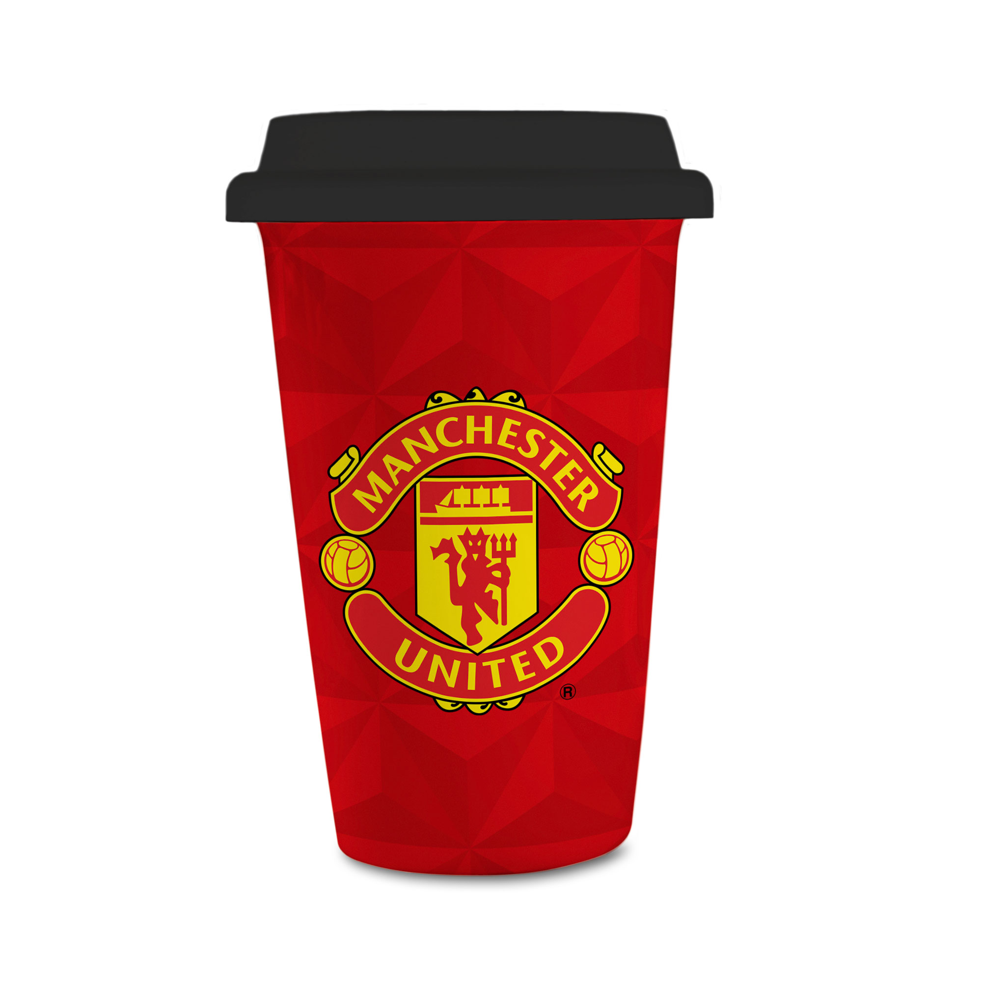Manchester United FC Crest Reusable Cup